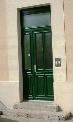 Porte Dentrée Xavier Drouin Menuisier Centre Et Ile De France - Protection porte d entrée